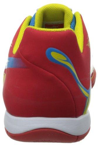 Zapato Puma Trovan Lite fútbol High Risk Red/Blue Aster/Vibrant Yellow/White