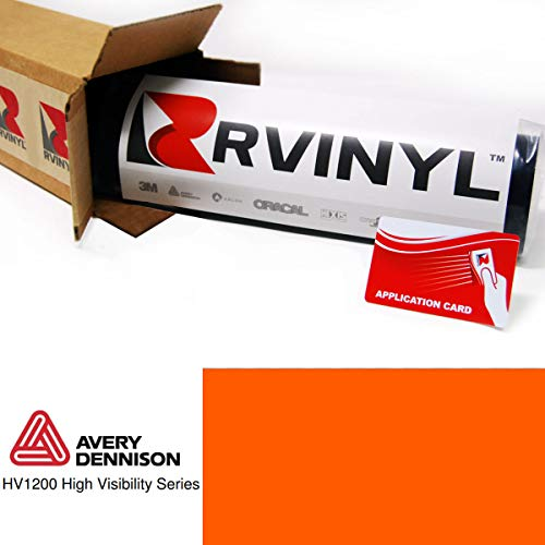 Avery HV 1200 Orange Reflective 360-R 1ft x 1ft High for sale  Delivered anywhere in USA