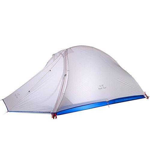 シェルター療法膜Swillchi テント 2~3人用 シリコン 超軽量 2KG 登山用 2重層式 防水 UV カット 耐水圧4000mm ダブルウォールテントZP005