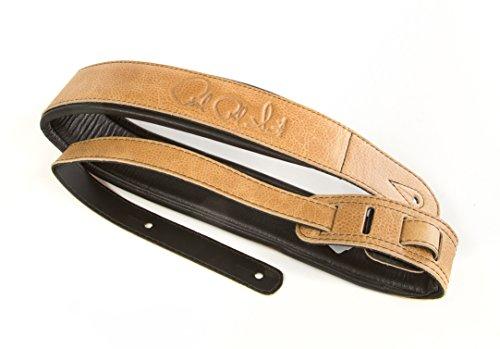 prs-leather-guitar-strap-sandstone-black
