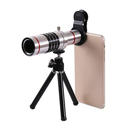 Phone Camera Lens , Prweyn HD Camera Lens Kit 18X Zoom Profe