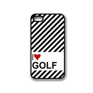Love Heart Golf iPhone 4 Case - Fits iPhone 4 & iPhone 4S
