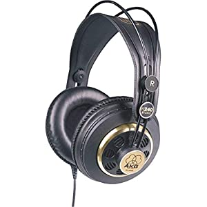 AKG Pro Audio K240 STUDIO Over-Ear, Semi-Open...