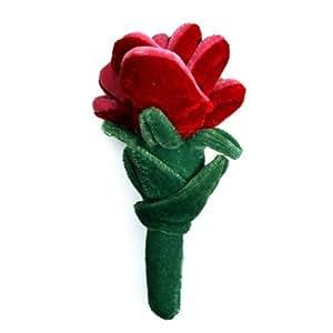 Sweet Talking Rose Plush Dog Toy