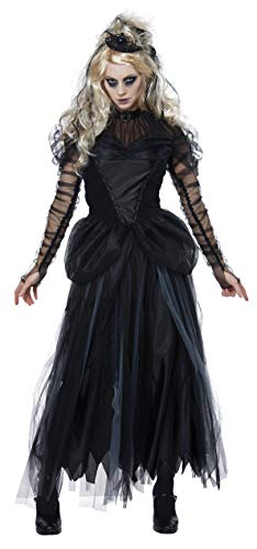 California Costumes Women's Dark Princess Adult Woman Costume, Black, Small]()