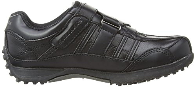 Skechers Boys Rage 2 strap Low-Top 91664 Black 1.5 UK Child, 34 EU