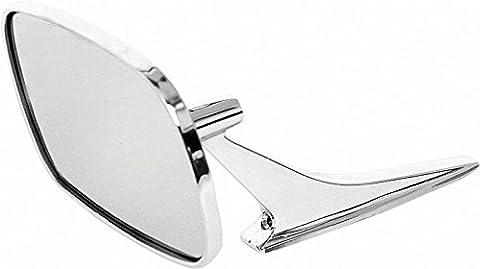 68-72 Nova Chevelle El Camino Monte Carlo 68-69 Camaro Firebird Rectangular Mirror, LH (71 Chevelle Mirror)