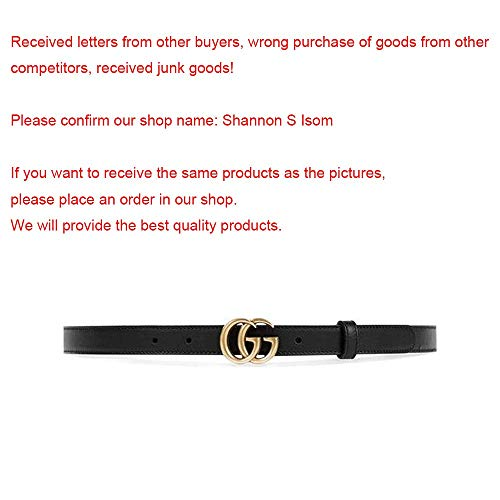 e0c37c3c32d GG Gucci Replica Belt for Women Gold Buckle Black Leather Fake Replicas  Belts Womens Faux (