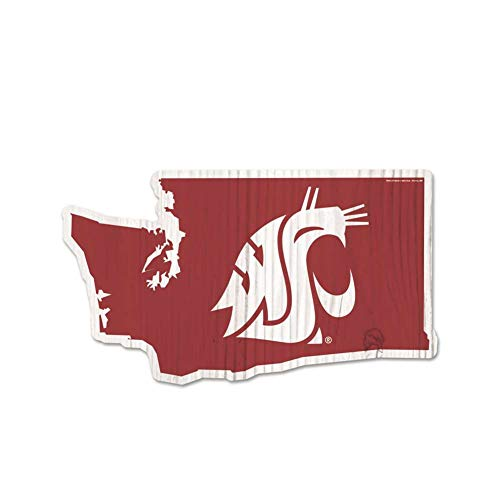 Wincraft Washington State Cougars Home State Wood Sign
