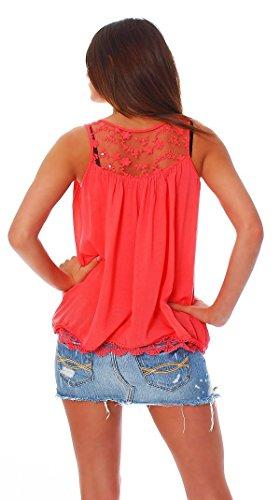 J.L.F. - Camisas - para mujer Coral