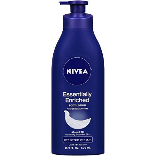 NIVEA Essentially Enriched Body Lotion, 16.9 Fluid Ounce