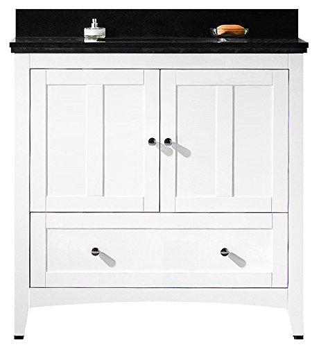 - American Imaginations AI-888-17615 Plywood-Veneer Vanity Set, White