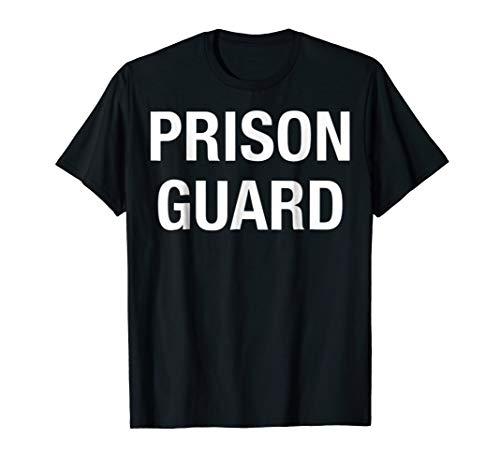 Prison Guard Costume Tshirt -