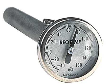 Dial Pocket Thermometer, 5 in. L