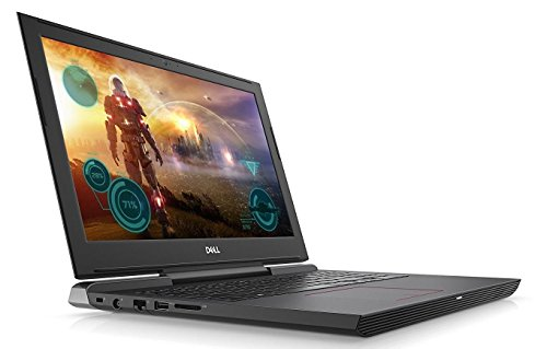 Dell Inspiron 15.6-inch Full HD Gaming Laptop, Intel Quad Core i5-7300HQ, 8GB DDR4 RAM, 256GB SSD, NVIDIA GeForce GTX 1060, Backlit Keyboard, Bluetooth, Win 10, Matte Black