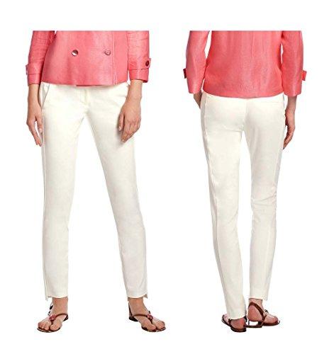 APART Pantalón de pinzas Mujer crema