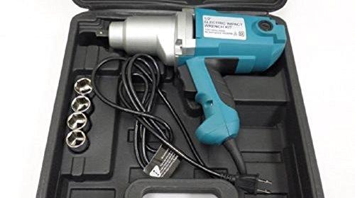 1/2'' Electric Impact Wrench Gun Set w/ Case & Sockets Driver ,NEW by Jikkolumlukka