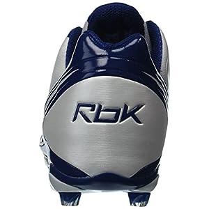 Reebok Men's Nfl Burner Speed Low Football Cleat,White/Dark Royal,15 M