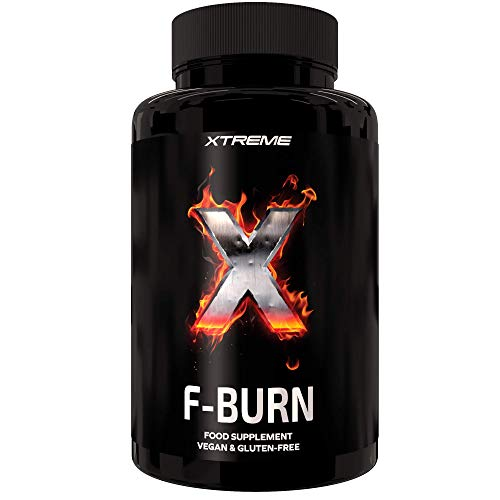 Xtreme F-Burn | 100% Natural Fat-Burner Ingredients |100 Vegan Keto Diet Pills Maca & Garcinia Power| Vegan Weight Loss…