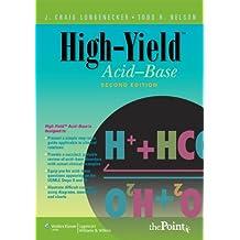 High-Yield™ Acid-Base (High-Yield Series)