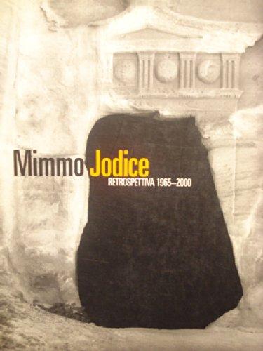 Mimmo Jodice Retrospettiva 1965-2000