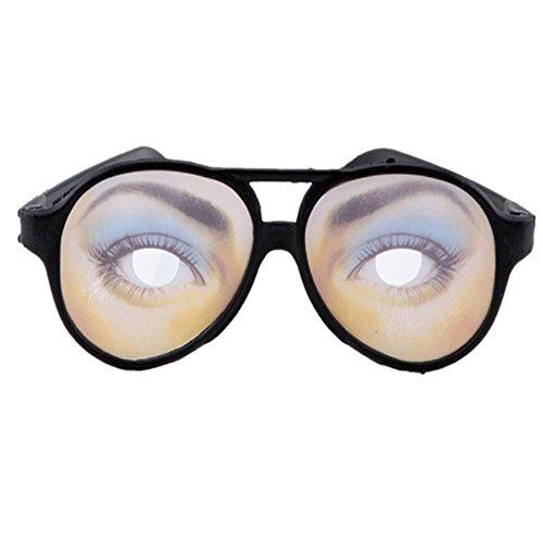 Datework Women HALLOWEEN Party Funny Glasses Fake Novelty Prank Eye Ball Joke - Joke Funny Glasses