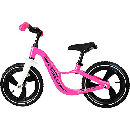 6e8cf82590e6 YAXuan Children's Balance Bike, Adjustable Seat with No Pedal, Folded  Handlebars, Safe and Comfortable Walker Scooter Toys for Kids Toddler