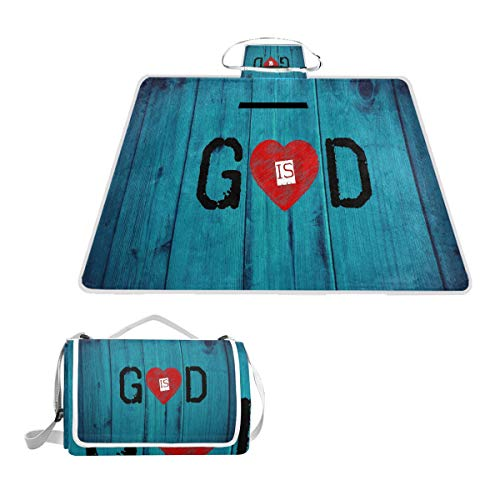 - Best GOD is Love Picnic Mat 57