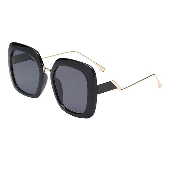 Mymyguoe Gafas de Sol Grandes Dama Gafas de Sol Mujeres ...
