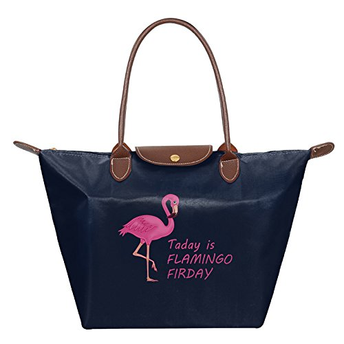 OUDE Today Is Flamingo Firday Fashion Ladies Folding Dumpling - In Malls Las Outlet Vegas