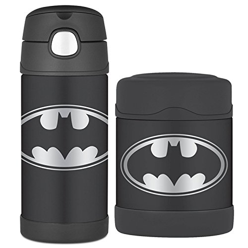 Thermos Batman FUNtainer 10 Oz Food Jar / 12 Oz Beverage Bottle