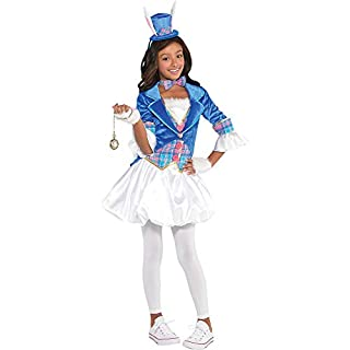 Girls Down The Rabbit Hole Costume - Medium (8-10)