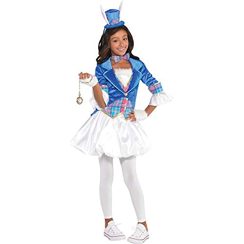 Girls Down The Rabbit Hole Costume - Large (12-14)
