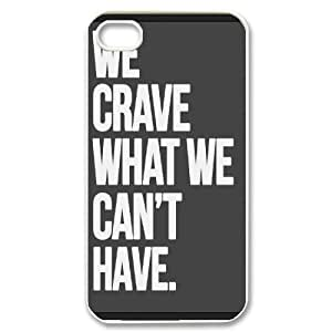 Cases for IPhone 4/4s, We Crave Cases for IPhone 4/4s, Psychedelic Anime White
