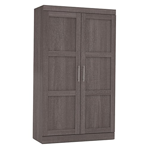 Bestar Furniture 26861-47 Pullout Armoire in Bark by Bestar