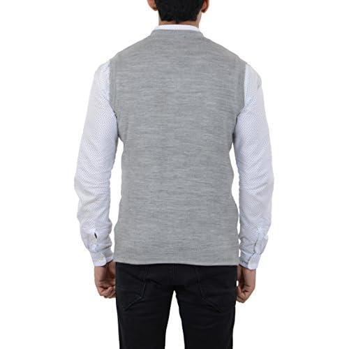 41JMc5n1ETL. SS500  - aarbee Men's Woolen Reversible Sweater