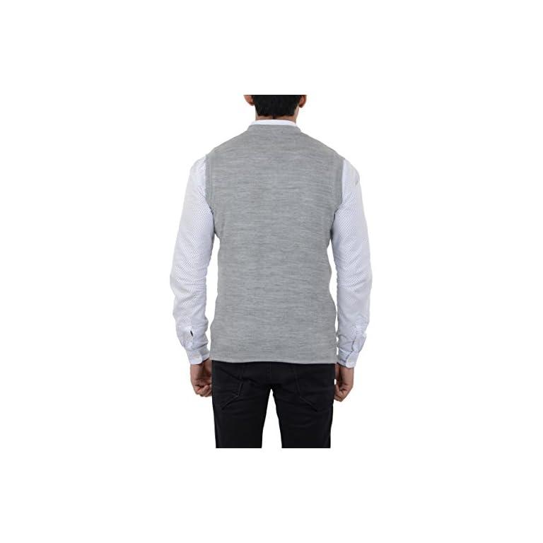 41JMc5n1ETL. SS768  - aarbee Men's Woolen Reversible Sweater