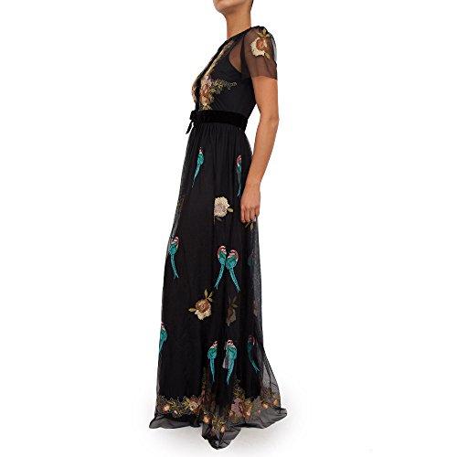 Schwarze Damen Fantasie Langes Kleid blugirl 22390 a6xBnFwqHA