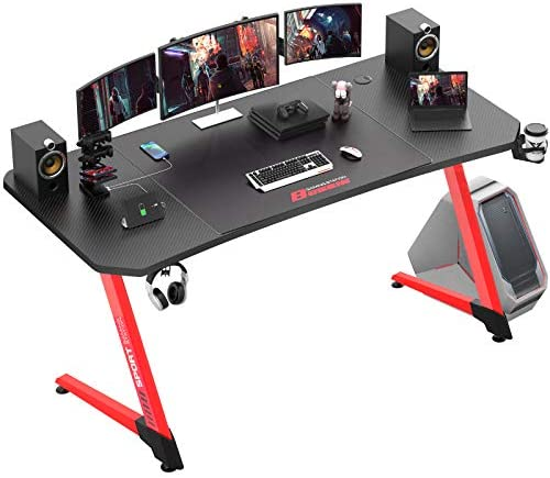 Vitesse 63 Inch Ergonomic Gaming Desk