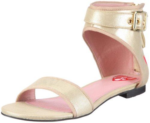Mujer Sandalias 40234 De Para Vestir Fiorucci Sandal Dorado w81n7