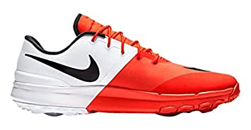 Nike Fi Flex Zapatillas Deportivas de Golf, Hombre, Naranja, 42.5
