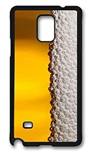 MOKSHOP Adorable beer foam Hard Case Protective Shell Cell Phone Cover For Samsung Galaxy Note 4 - PCBKimberly Kurzendoerfer