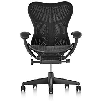 Amazoncom Herman Miller Classic Aeron Chair Size B Kitchen - Herman chair