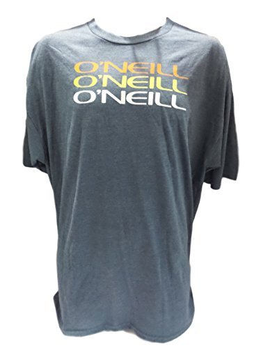 O'Neill Men's T-Shirt, Short Sleeve Decoy Shirt, Modern Fit (Navy, M)