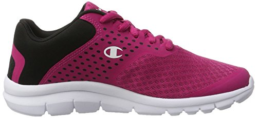Champion Low Cut Shoe Alpha, Zapatillas de Running Para Mujer Multicolor (Cri/nbk)