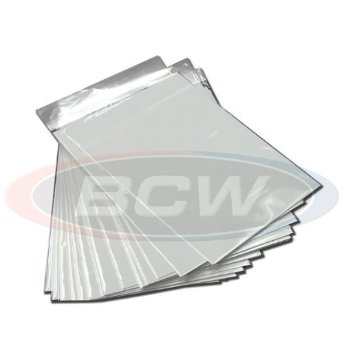 Silver Resealable Backer Boards BCW