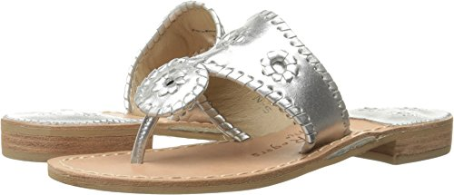 Jack Rogers Women's Hamptons Classic Silver 10.5 N US by Jack Rogers