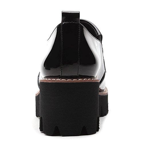 KHSKX-Po - Schuhe Neue Schuhe Für Den Herbst Plateauschuhe Casual Schuhen Und High Heels black