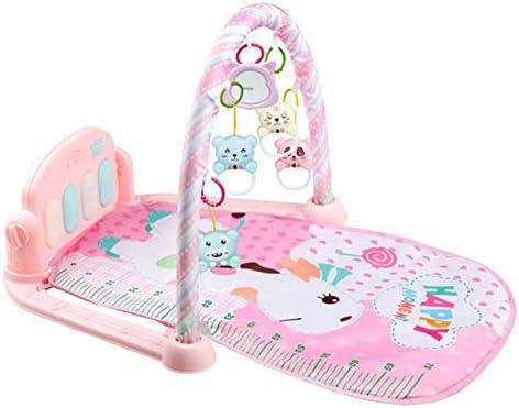 プレイマット 赤ちゃん 遊びミュージカルジム 掃除便利 安全 多機能 取り外し可能 子供 出産祝い 新生児 0-36ヶ月赤ちゃん