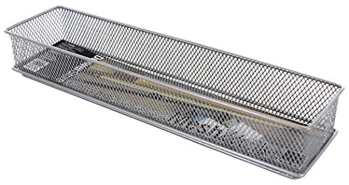 Design Ideas Mesh Drawer Store, Silver, 3 X 12-Inches (120929) -